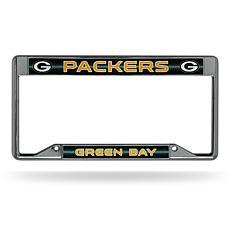 NFL Inverted Bling Chrome Frame - Packers