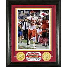"NFL Kareem Hunt ""Record Breaking Debut"" Bronze Coin Photo Mint"