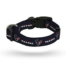 NFL Medium Pet Collar - Texans