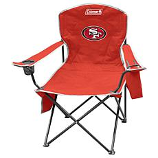 NFL Quad Chair with Armrest Cooler - 49ers