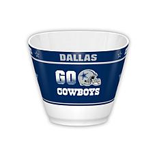 NFL Snack/Popcorn Bowl - Cowboys