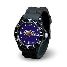 NFL Spirit Rubber Strap Watch - Baltimore Ravens
