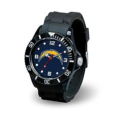 NFL Spirit Rubber Strap Watch - San Diego Chargers
