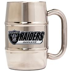 NFL Stainless Steel 16oz Mug- Oakland Raiders