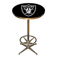 NFL Team Logo Pub Table - Raiders