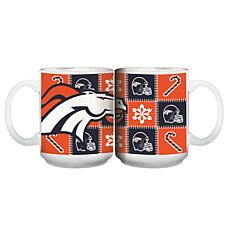 NFL Ugly Sweater Mug - Denver Broncos