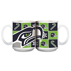 NFL Ugly Sweater Mug - Seattle Seahawks