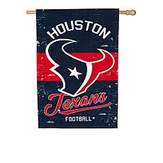 NFL Vintage Linen House Flag - Texans
