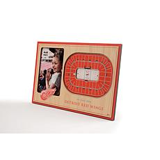 NHL Detroit Red Wings 3-D Stadium Views Picture Frame