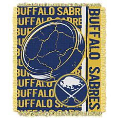NHL Double Play Woven Throw - Sabres