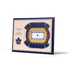 NHL Toronto Maple Leafs StadiumViews 3-D Wall Art - Scotiabank Arena