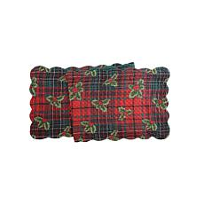 Nicholas Plaid Table Runner