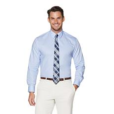 Nick Graham Solid Shirt and Tie Set - Regular or Long