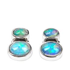 Nicky Butler Ethiopian Opal Double Oval Earrings