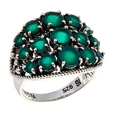 Nicky Butler Green Chalcedony East/West Dome Ring