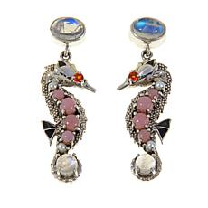Nicky Butler Pink Opal Seahorse Earrings