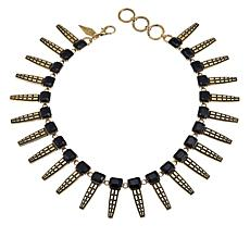 "Nicole Romano ""Belcourt"" 16"" Spike Collar Necklace"