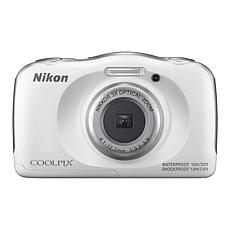 Nikon COOLPIX W100 13.2MP 3X Zoom Weatherproof Camera w/16GB SDHC Card