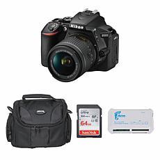 Nikon D5600 DSLR Camera with 18-55mm Lens Bundle