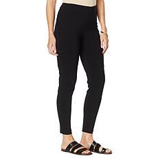 Nina Leonard Millennium Slim-Leg Cargo Pant
