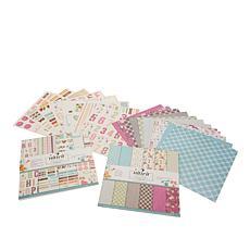 "Nitwit ""Pawsitivity"" 12"" x 12"" Paper Craft Kit"