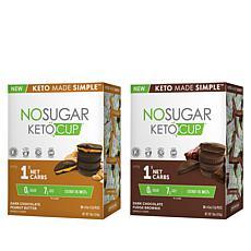 No Sugar Keto 60-count Combo Keto Cups Auto-Ship®