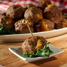 Nonna Colletti's Bacon Cheeseburger Meatballs