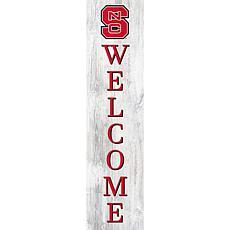 "North Carolina State University 48"" Welcome Leaner"