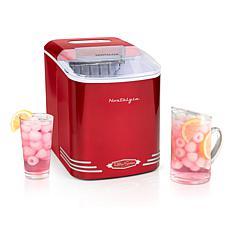 Nostalgia 26 lbs. Retro Automatic Ice Cube Maker