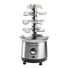 Nostalgia Cascading Chocolate Fondue Fountain