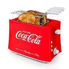 Nostalgia Coca-Cola Grilled Cheese Toaster with Toaster Baskets