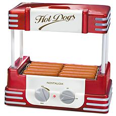 Nostalgia Hot Dog Roller and Bun Warmer - 8 Hot Dog and 6 Bun Capacity