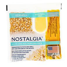 Nostalgia KPP424 Premium Popcorn, Oil & Seasoning Kit, 24 Count