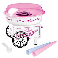 Nostalgia Vintage Hard and Sugar-Free Candy Cotton Candy Maker