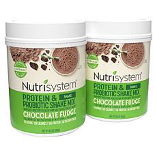 Nutrisystem 28 Days of Chocolate Flavor Shake Mix Powder