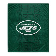 "Officially Licensed 60"" x 70"" Prima Fleece Echo Throw Blanket - Jets"