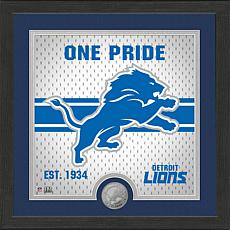 Officially Licensed Battle Cry Bronze Photo Mint - Lions