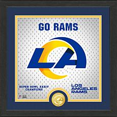 Officially Licensed Battle Cry Bronze Photo Mint - Rams