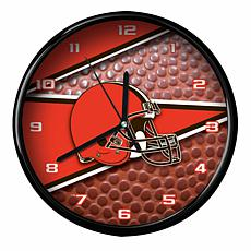 Officially Licensed Cleveland Browns Team Football Clock