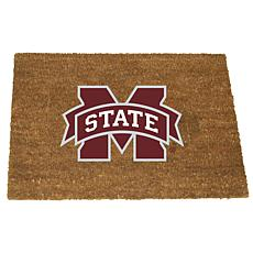Officially Licensed Colored Logo Door Mat - Mississippi Sate