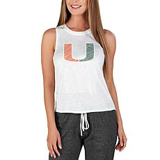 Officially Licensed Concepts Sport Gable Ladies Knit Tank - Miami