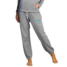 Officially Licensed Concepts Sport Ladies' Knit Jogger Pant-Dolphins
