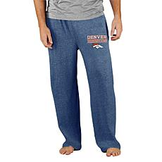 Officially Licensed Concepts Sport Mainstream Men's Knit Pant-Broncos