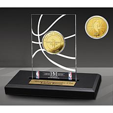 Officially Licensed Houston Rockets 2x Champs Coin Desktop Display