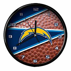 Officially Licensed Los Angeles Chargers Team Football Clock