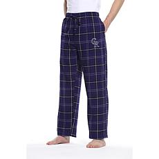 Officially Licensed Men's Plaid Flannel Pant by Concepts Sport-Rockies