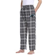 Officially Licensed Men's Plaid Flannel Pant, Concept Sports- Panthers