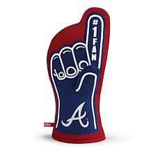 Officially Licensed MLB #1 Fan Oven Mitt - Atlanta Braves