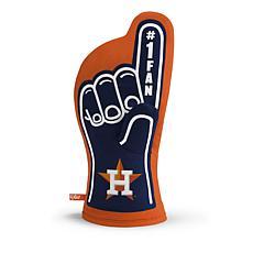 Officially Licensed MLB #1 Oven Mitt - Houston Astros