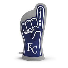 Officially Licensed MLB #1 Oven Mitt - Kansas City Royals
